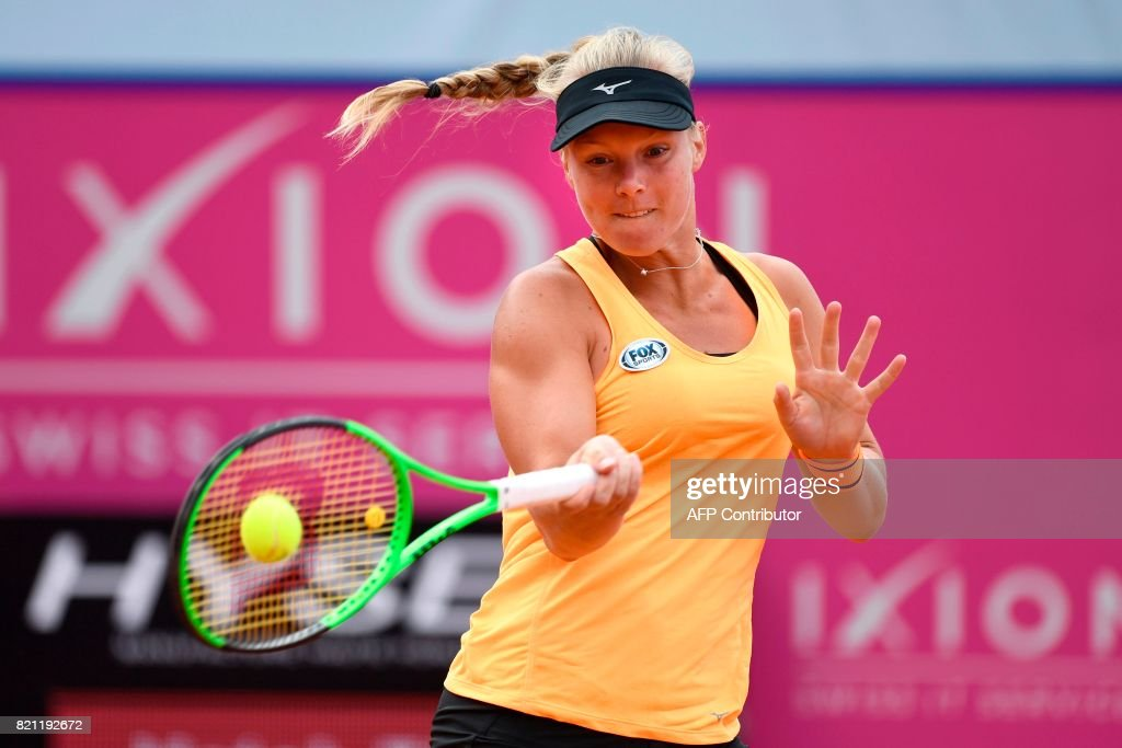 TENNIS-WTA-SUI : News Photo