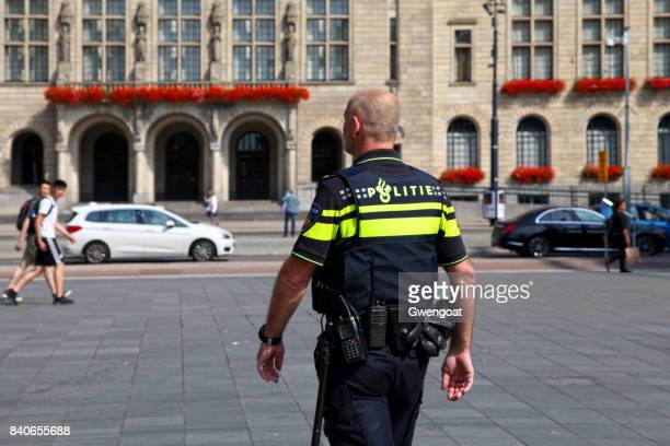 dutch police officer - town hall stock pictures, royalty-free photos & images