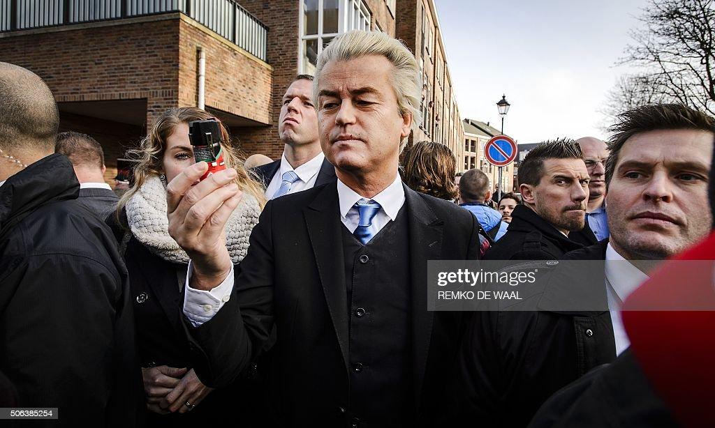 NETHERLANDS-POLITICS-WILDERS : Foto jornalística