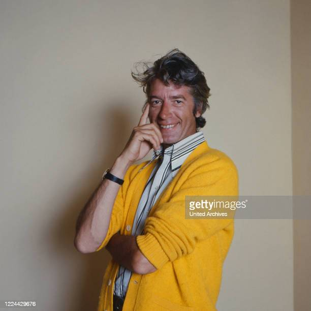 Dutch presenter singer and actor Rudi Carrell Germany 1976
