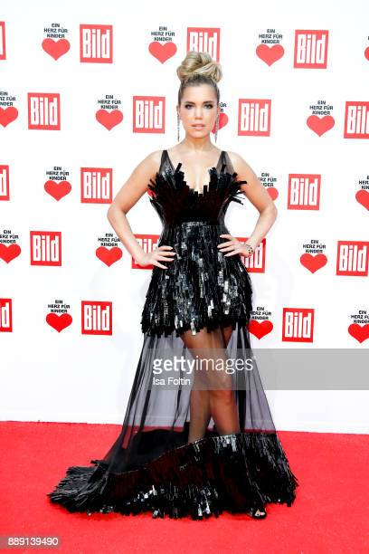 Dutch presenter Sylvie Meis attends the 'Ein Herz fuer Kinder Gala' at Studio Berlin Adlershof on December 9 2017 in Berlin Germany