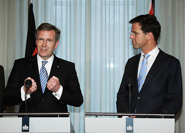 Maurits Hendriks Netherlands Prime Minister Mark Rutte L: German President Wulff Visits Netherlands Photos And