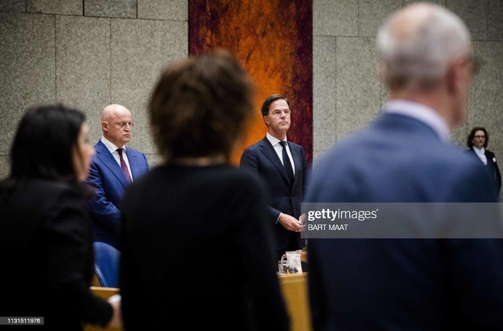NETHERLANDS-GOVERNMENT-UTRECHT-CHRISTCHURCH-ATTACK : News Photo