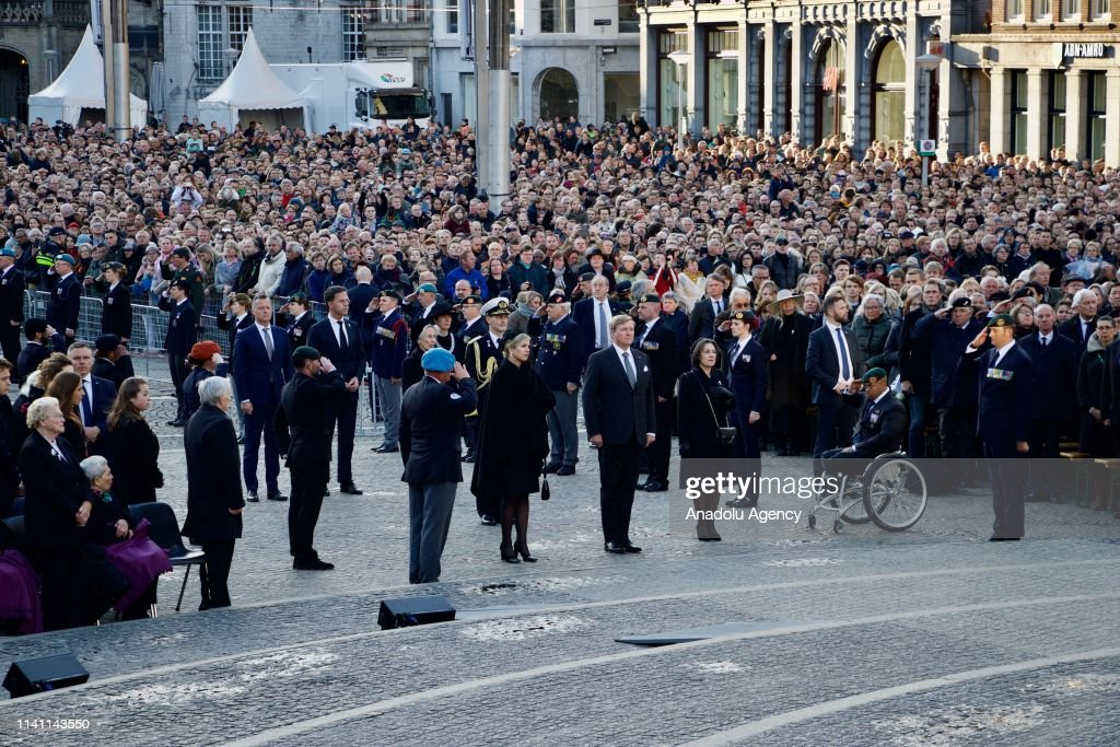 Remembrance Day in Amsterdam : News Photo