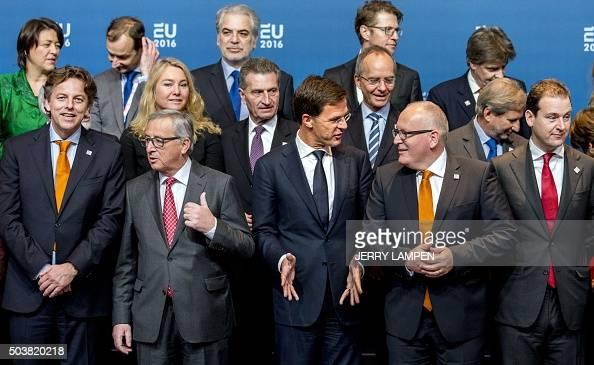 Maurits Hendriks Netherlands Prime Minister Mark Rutte L: Dutch Prime Minister Mark Rutte , European Commission