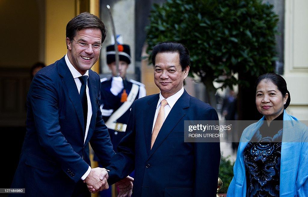 Maurits Hendriks Netherlands Prime Minister Mark Rutte L: Dutch Prime Minister Mark Rutte Welcomes His Vietnamese