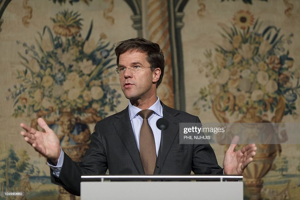 Maurits Hendriks Netherlands Prime Minister Mark Rutte L: Dutch Prime Minister-elect Mark Rutte, Leader Of The