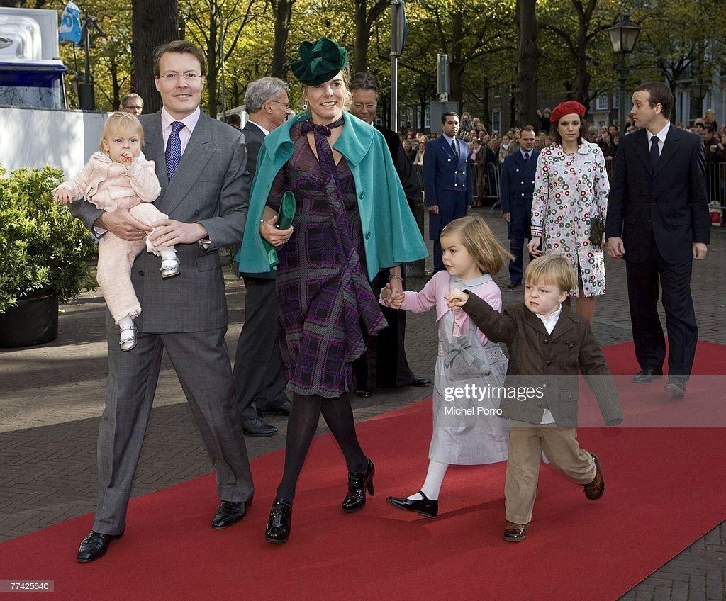 Christening Of Dutch Princess Ariane : News Photo