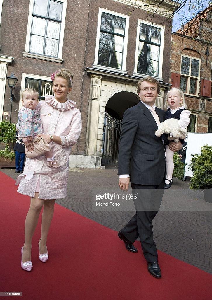 Christening Of Dutch Princess Ariane : Nieuwsfoto's