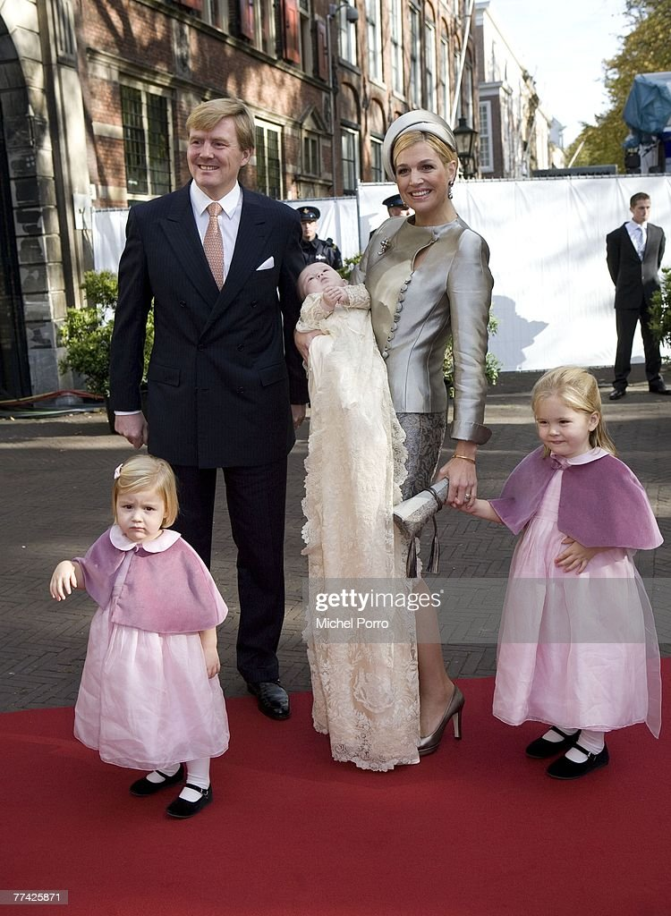 Christening Of Dutch Princess Ariane : Nieuwsfoto's