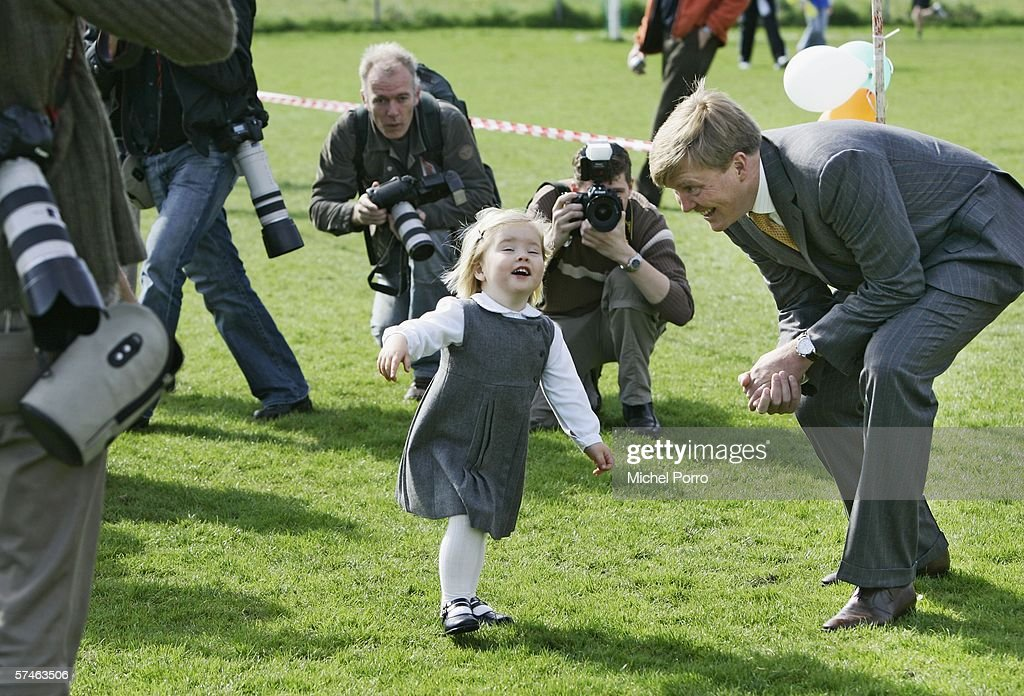 Dutch Princess Maxima Starts Youth Sponsored Run : News Photo
