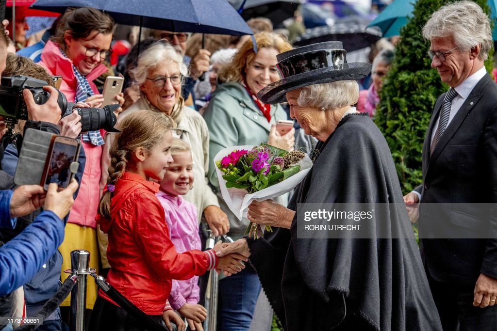 NETHERLANDS-ROYALS-HISTORY-WWII : News Photo