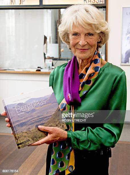 Dutch Princess Irene presents her new book Bergplaas in Amsterdam on September 16 2016 The book is a personal story in which the princess let the...