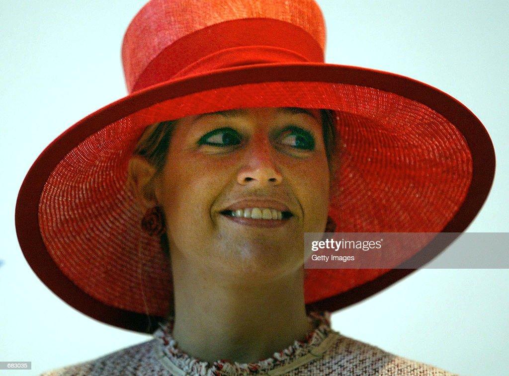 Dutch Princes Maxima : News Photo