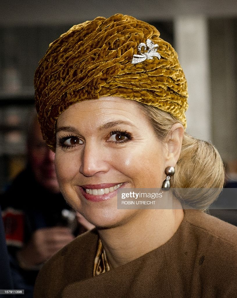 NETHERLANDS-ROYALS-MAXIMA : News Photo