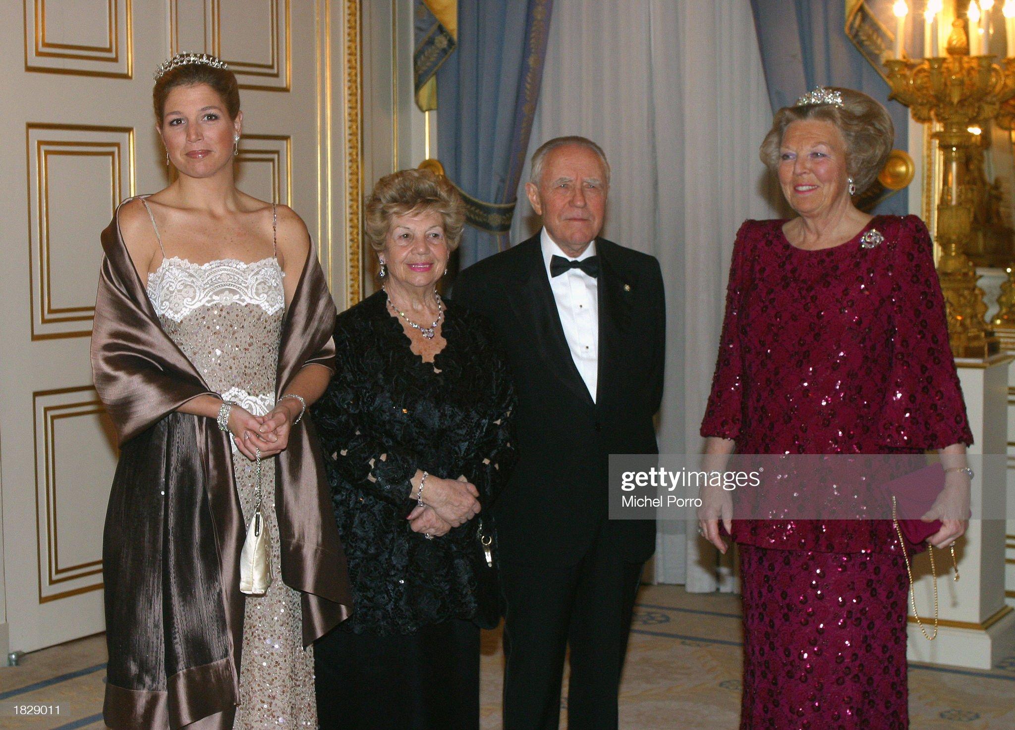 Italian President Ciampi Visits Netherlands : News Photo