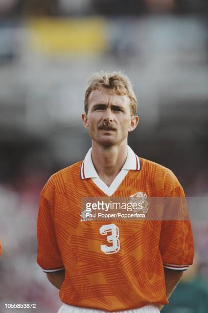 Dutch professional footballer Adri van Tiggelen defender with PSV Eindhoven posed prior to playing for the Netherlands national team in the UEFA Euro...