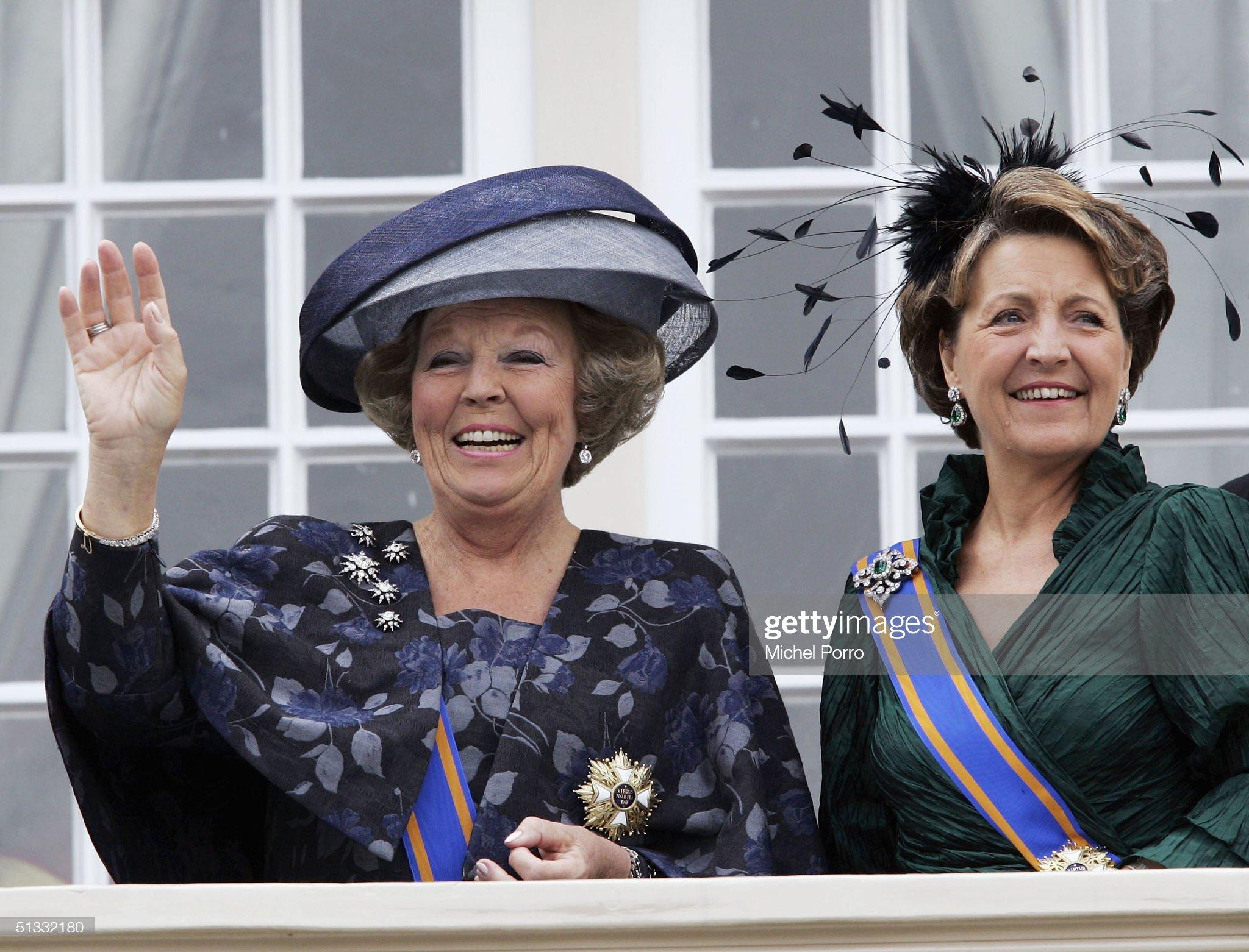 Dutch Queen Opens Parliament : News Photo