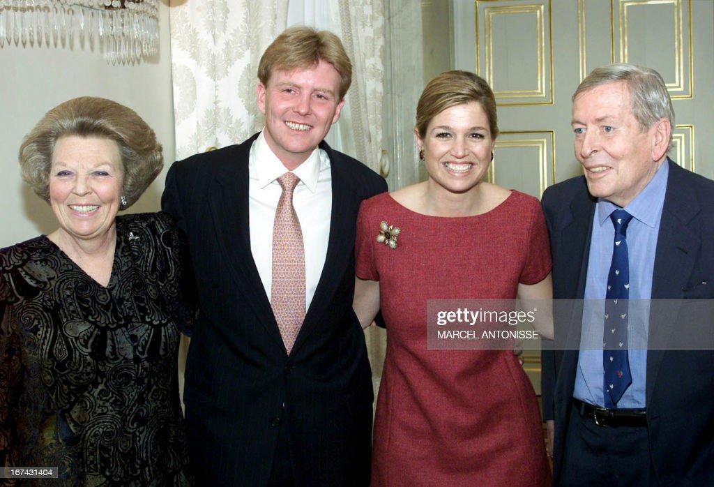 NETHERLANDS-ENGAGEMENT : News Photo