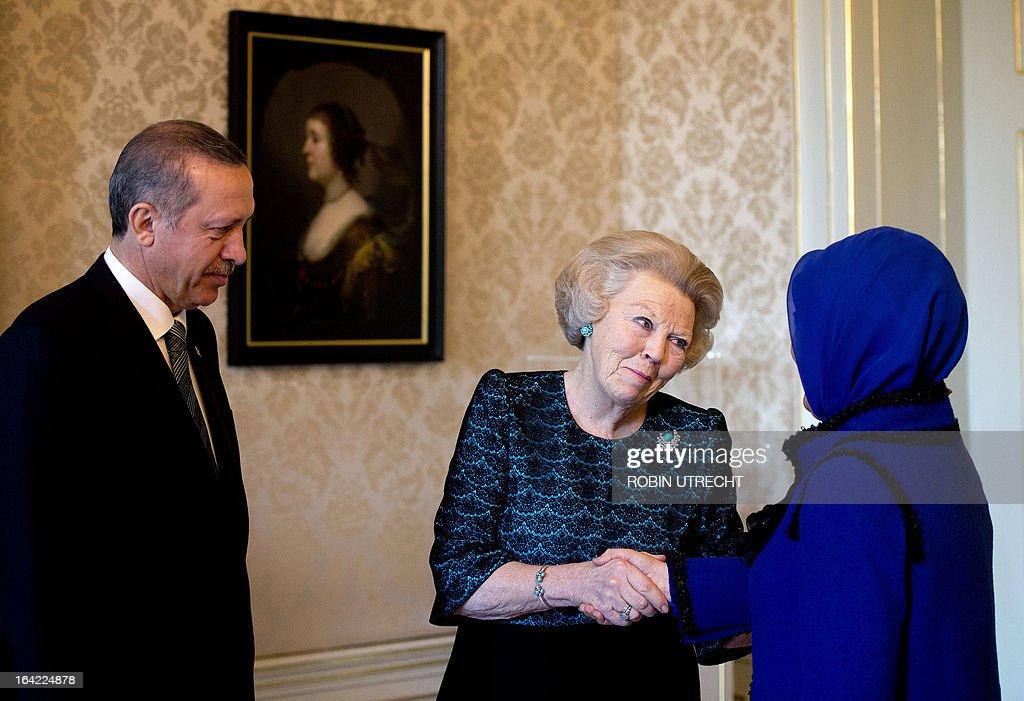 NETHERLANDS-TURKEY-ROYALS-DIPLOMACY : News Photo