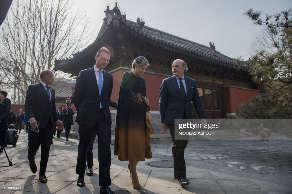 Dutch King Willem-Alexander and Queen Maxima on official visit to China
