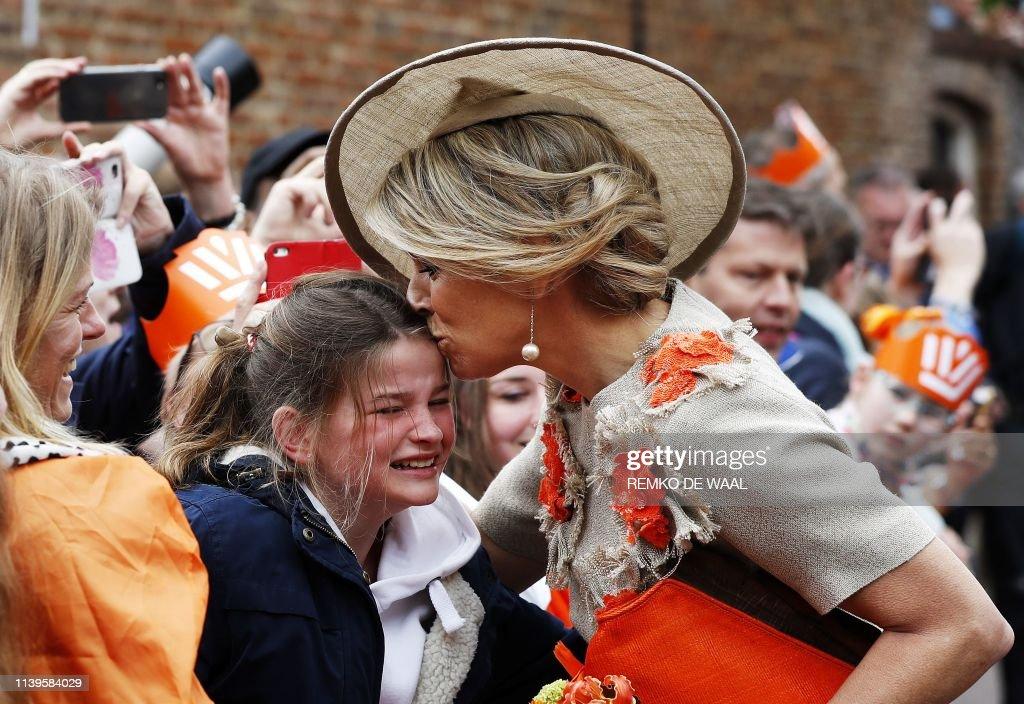 NETHERLANDS-ROYALS-KINGS-DAY-CELEBRATION : News Photo