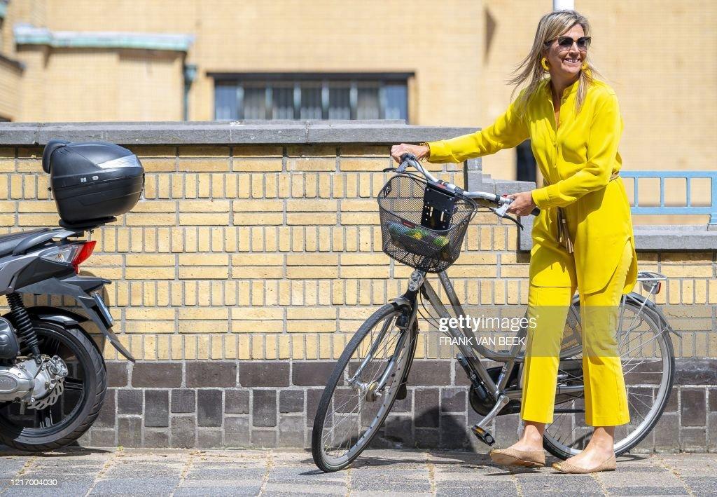 NETHERLANDS-ROYALS-CULTURE : Foto di attualità