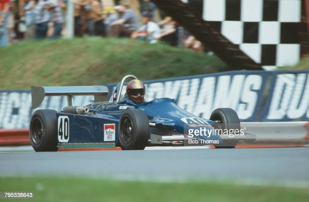 Dutch racing driver Kees Nierop drives the Ralt RT3D/82 Toyota Mader of Neil Trundle Engineering Ltd in the 1982 Marlboro British Formula Three...