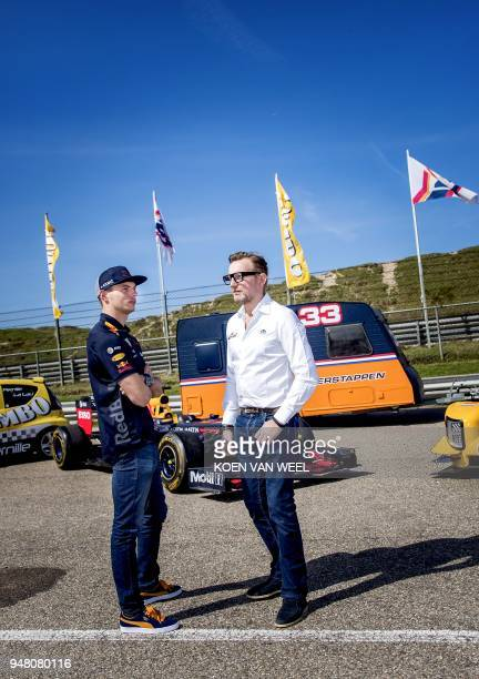 Dutch racing driver Max Verstappen and Prince Bernhard van Oranje attends the presentation of the program of the third edition of the Jumbo Racedays...