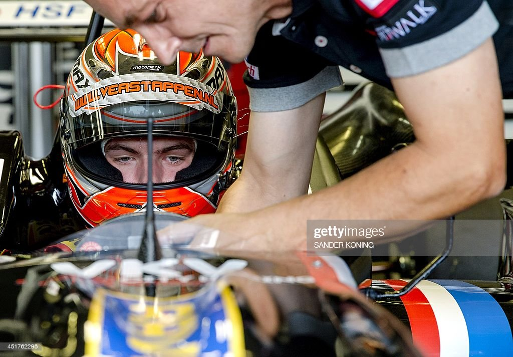 NETHERLANDS-RACING-F3-VERSTAPPEN : News Photo