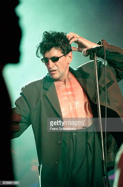 Dutch Rock singer Herman Brood performs on July 16th 1999 at the North Sea Jazz Festival in the Hague, Netherlands.
