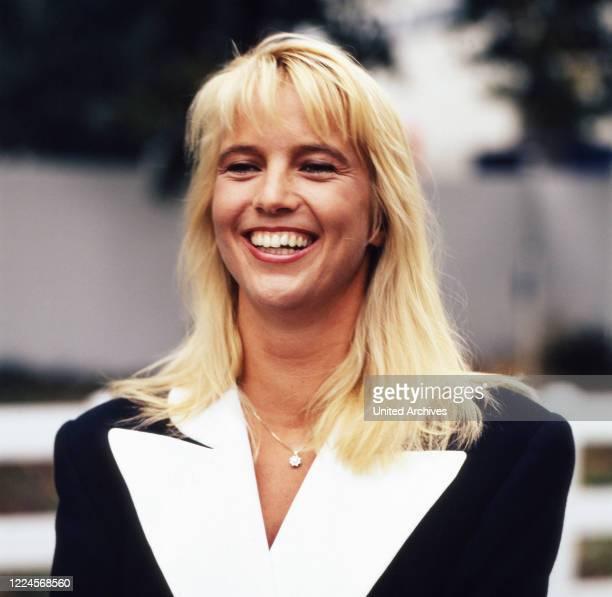 Dutch show presenter and actress Linda de Mol Germany circa 1992