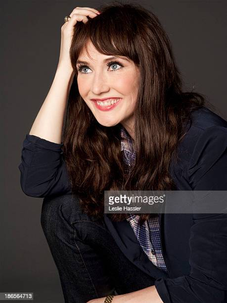 Dutch singer and actress Carice Van Houten is photographed for Self Assignment on April 25 2011 in New York City