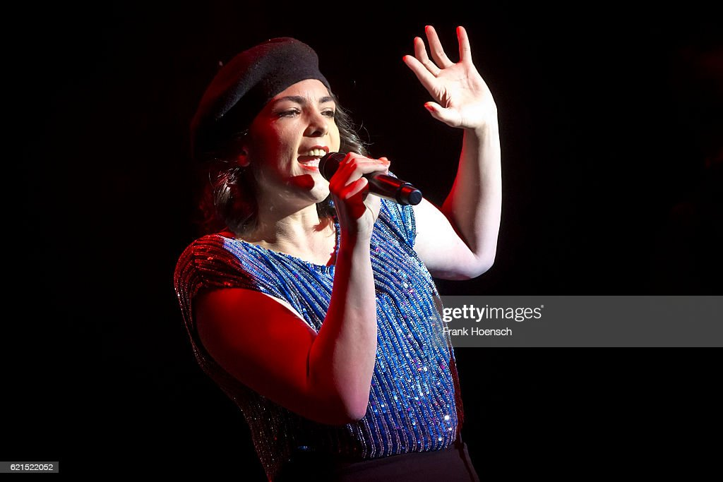 Dutch singer Caro Emerald performs live during a concert