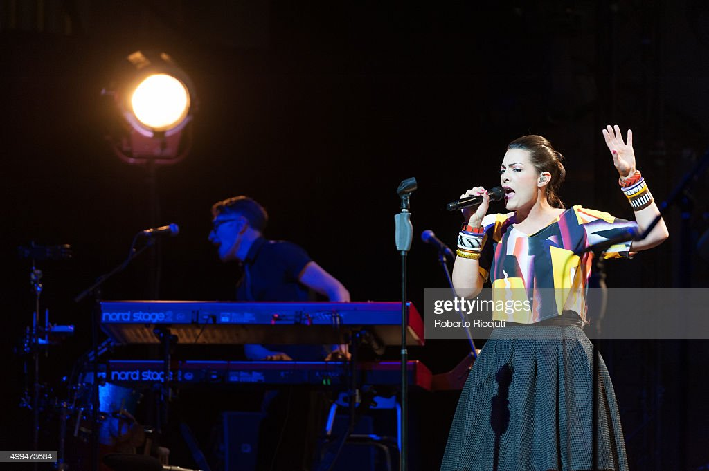 Caro Emerald Performs At Usher Hall In Edinburgh : News Photo