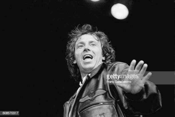 Dutch singer Marco Borsato performs at Parkpop in the Hague, Netherlands on 30th June 1996.
