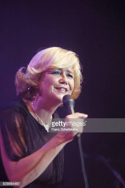 Dutch singer Mathilde Santing performs at the Concertgebouw on September 8th 2003 in Amsterdam, Netherlands.