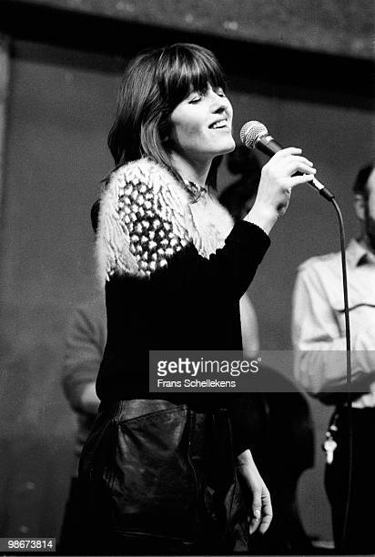 Dutch singer Soesja Citroen performs live on stage at Bimhuis in Amsterdam, Netherlands on April 06 1984