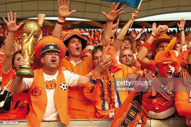 dutch soccer fans - fotbolls vm bildbanksfoton och bilder