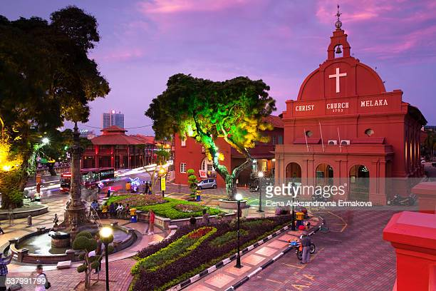 dutch square, malacca - melaka state stock pictures, royalty-free photos & images