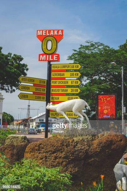 dutch square,malacca - melaka state stock pictures, royalty-free photos & images