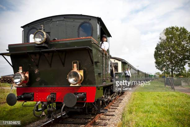 dutch steam train # 1 xxl - cowcatcher stock pictures, royalty-free photos & images