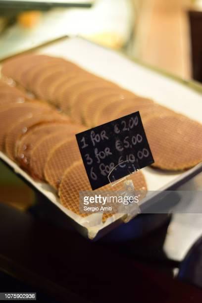 Dutch syrup waffles