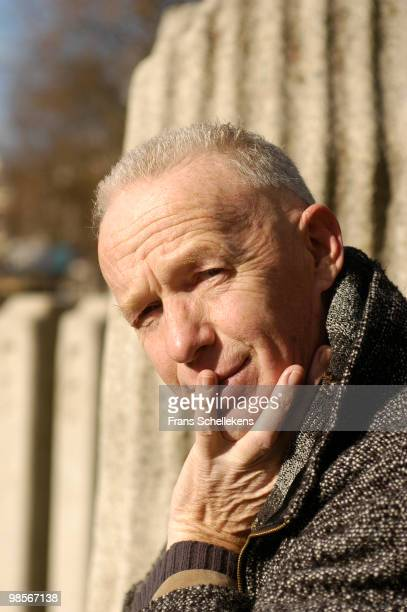 Dutch tenor saxophone player Bertus Borgers posed in Amsterdam, Netherlands on October 28 2002