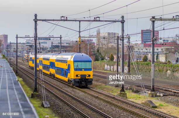 Dutch train at Amersfoort