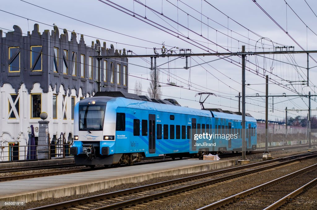 Dutch train at Amersfoort : Stock Photo
