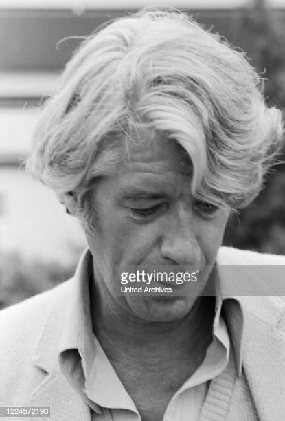 Dutch Tv presenter and entertainer Rudi Carrell Germany circa 1976