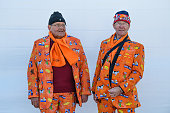 gangneung south korea dutch visitors dressed