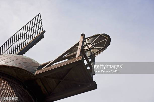 dutch windmill in san francisco's golden gate park - sanduíche stock pictures, royalty-free photos & images