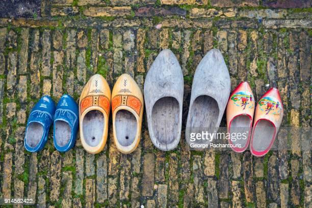Dutch wooden shoes, clogs